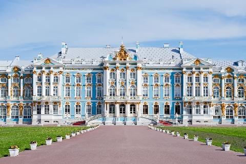 Pushkin della Residenza di Caterina II san pietroburgo