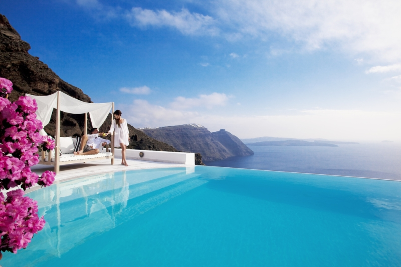 santorini bluelife