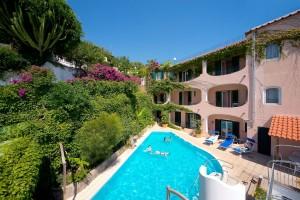 ischia hotel bellevue piscina